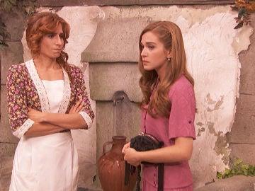 Julieta y Fe descubren a Gonzalo y Mauricio teniendo un extraño y misterioso encuentro