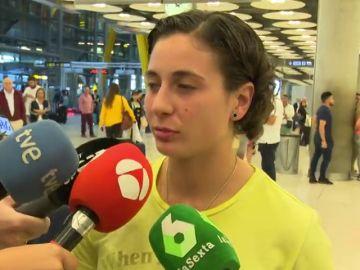 """Ana Carrasco, tras hacer historia en el motociclismo: """"Hemos trabajado mucho para llegar hasta aquí"""""""