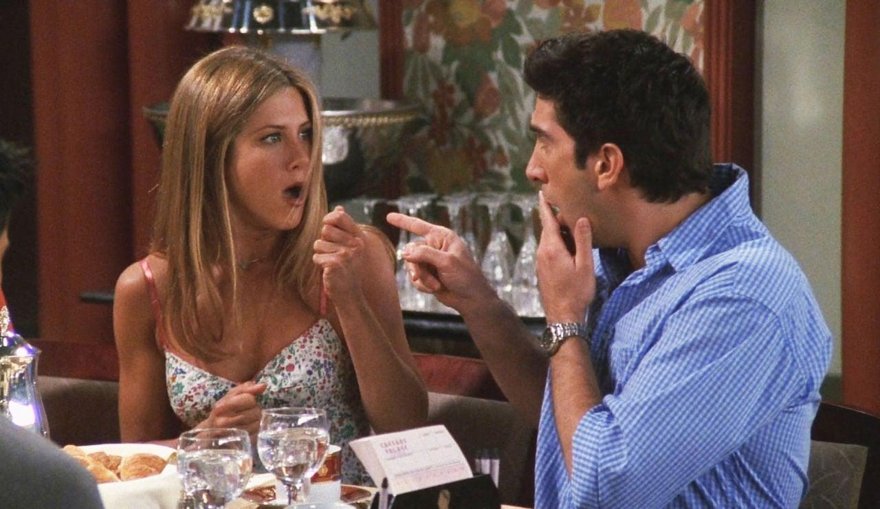 Rachel y Ross en 'Friends'