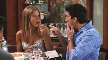 Rachel y Ross en 'Friends'