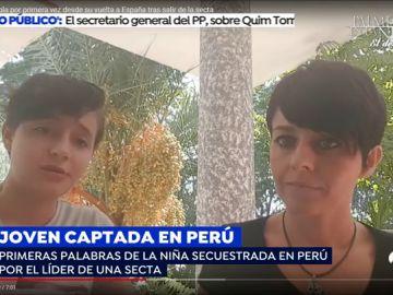 """El vídeo de Patricia Aguilar tras ser rescatada de la secta: """"Cambié mi declaración porque tenía miedo, Steven es muy peligroso"""""""
