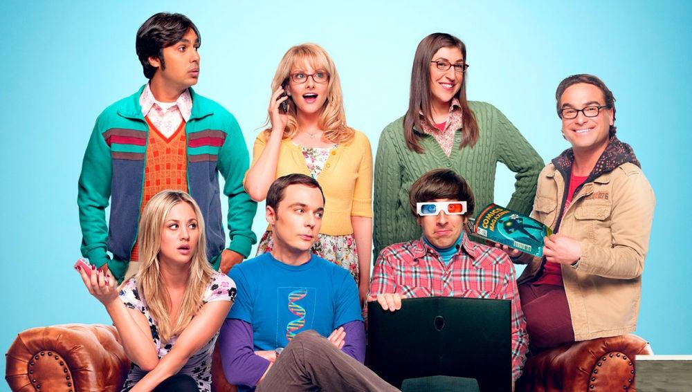 Los protagonistas de 'Big Bang'