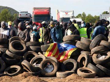 Las actuaciones de los CDR han provocado cortes de carreteras