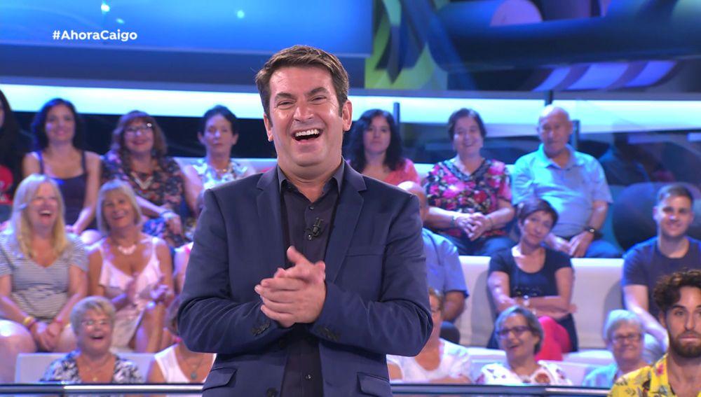 Arturo Valls cuenta el chiste más optimista de la historia