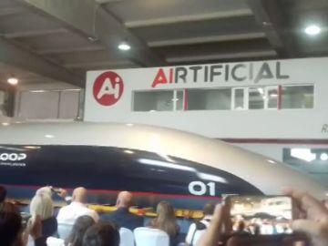 Presentación mundial del Hyperloop en Cádiz