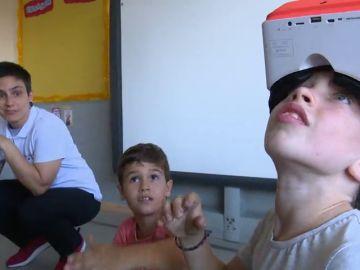 La realidad virtual llega a los colegios