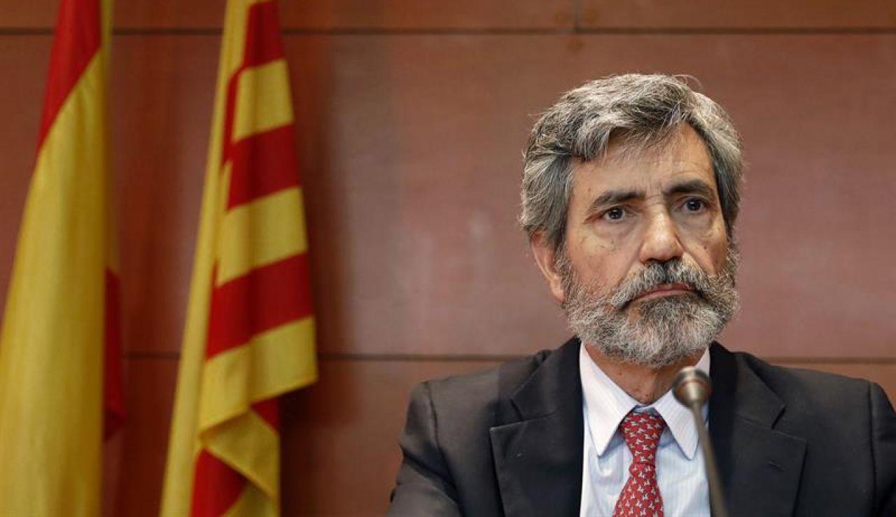 El presidente del CGPJ y del Tribunal Supremo, Carlos Lesmes