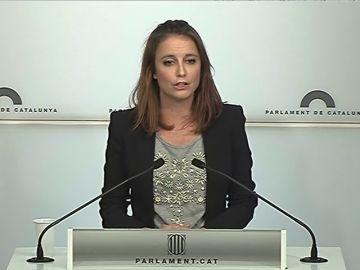La diputada del PPC en el Parlament, Andrea Levy