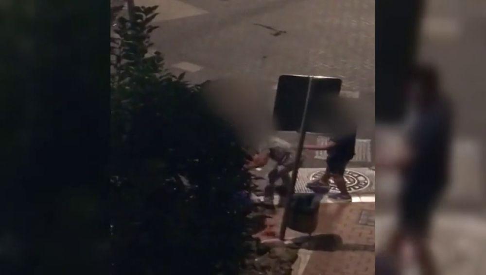 Violenta pelea entre dos hombre en Coín