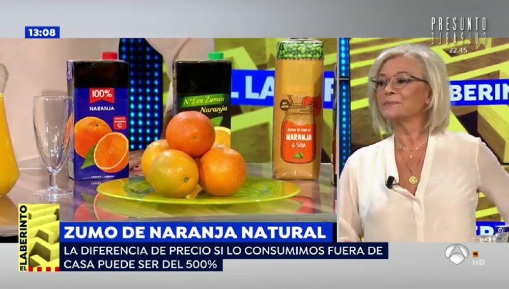 El impacto para tu salud si tomas un zumo de naranja es el mismo que al tomar una Coca-Cola