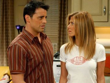 Joey y Rachel en 'Friends'