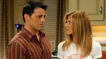 Joey y Rachel en 'Friends'
