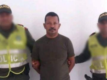 El sospechoso de matar e incinerar a una niña en Colombia