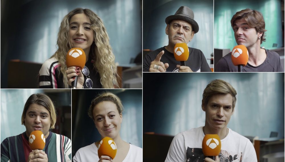 El mensaje más especial de los concursantes de 'Tu cara me suena' al pulsador del programa