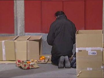 Los mendigos de la Comunidad de Madrid tendrán que declarar sus ingresos