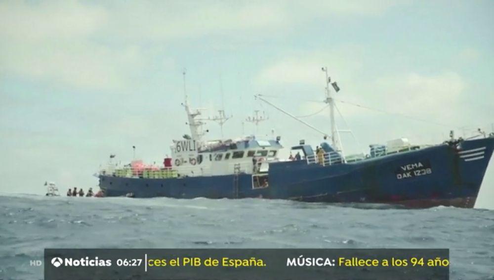 Detienen en Gabón por pesca ilegal a un barco con bandera senegalesa pero con armadores españoles