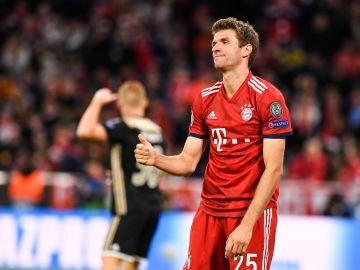 Muller lamenta una acción del Bayern de Múnich