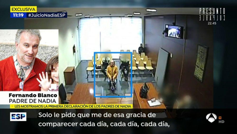 EXCLUSIVA: Las lágrimas de los padres de Nadia en su declaración ante el juez