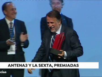 Antena 3 y La Sexta, premiadas por sus campañas de 'Ponle Freno' y 'Constantes y Vitales'
