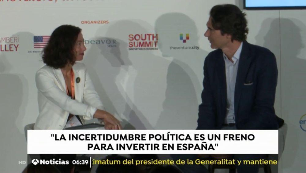 Inversores internacionales advierten de que la incertidumbre política y regulatoria es la principal barrera para hacer en España