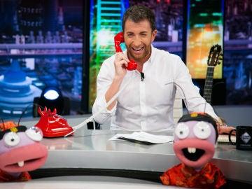 Karlos Arguiñano cuenta el chiste del momento a través de 'El teléfono rojo' en 'El Hormiguero 3.0'