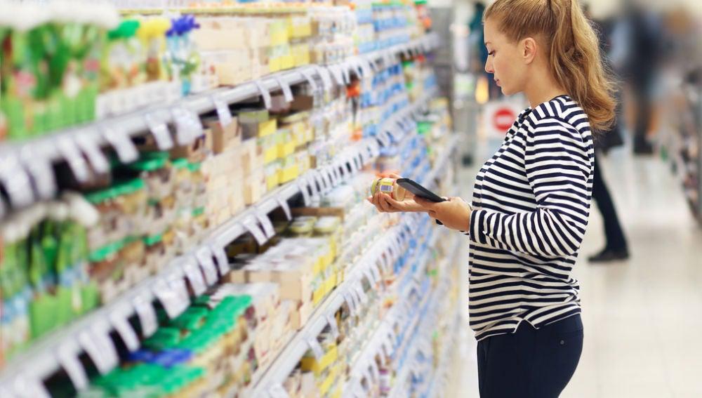 Comprando en el supermercado