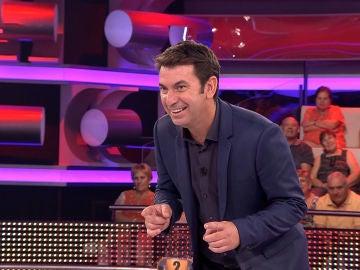 Arturo Valls aprende a pronunciar en francés una frase muy importante para él