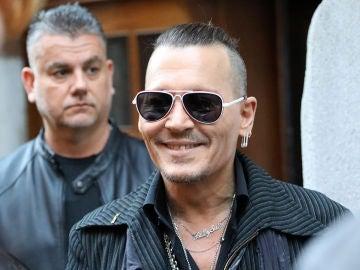 Johnny Depp en una de sus últimas apariciones públicas