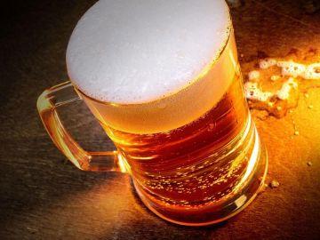 Imagen de archivo de una jarra de cerveza