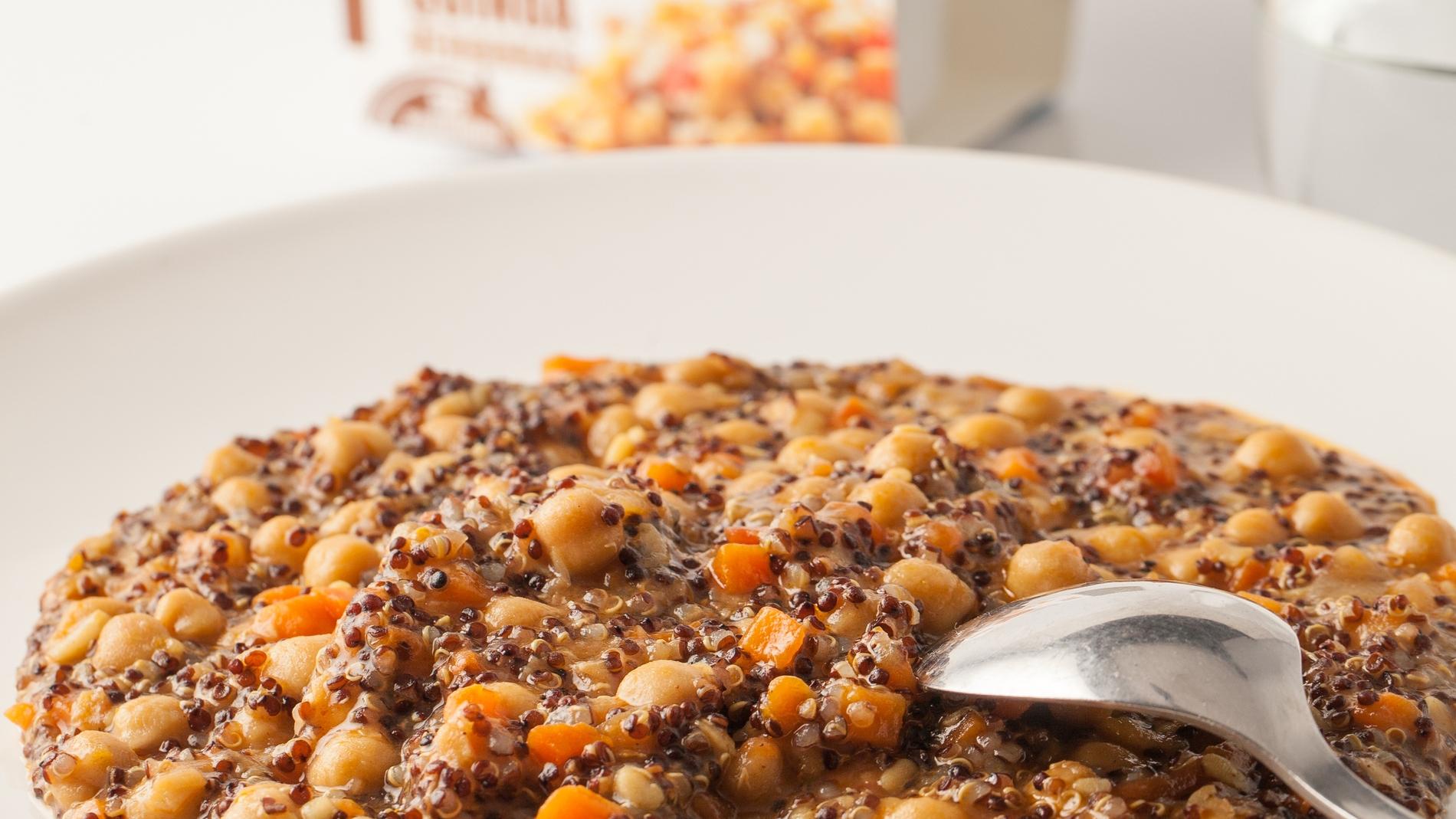 Legumbres con quinoa