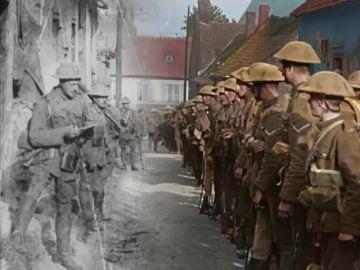 """El director de """"El Señor de los Anillos"""" nos vuelve a ofrecer lo nunca visto, imágenes de la Primera Guerra Mundial a color"""