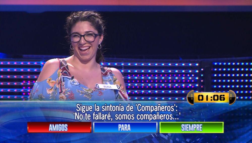 Una concursante se queja de una pregunta y Arturo Valls le responde sin tapujos