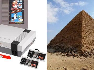 Nintendo y las piramides
