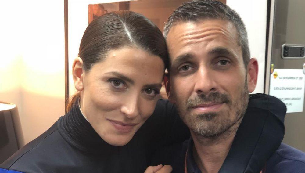 Damián Mollá y Bárbara Lennie en 'El Hormiguero'