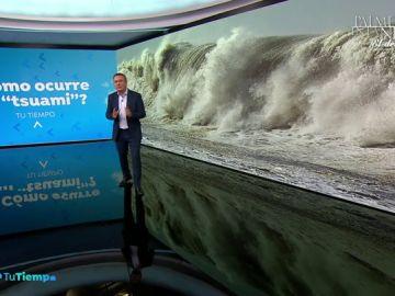 Roberto Brasero nos cuenta todas las etapas de formación de un Tsunami