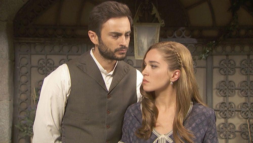 Julieta y Saúl, en shock al tener que huir de Puente Viejo