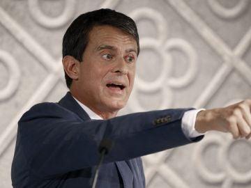 El exprimer ministro francés y aspirante a la alcaldía de Barcelona, Manuel Valls