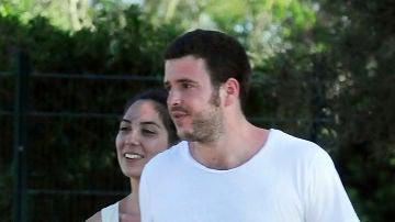 Álex Lequio y su novia Francisca
