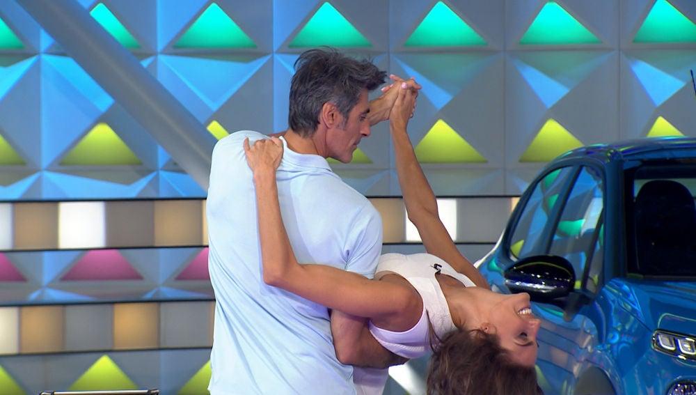 Descubre el romántico y apasionado baile de Jorge Fernández y Laura Moure