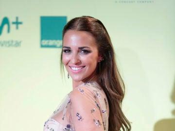 Paula Echevarría con vestido de Jorge Vázquez