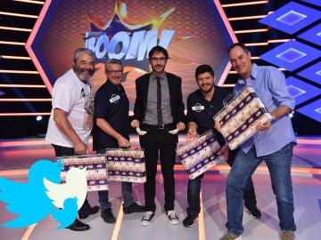 Euforia en las redes sociales tras de un histórico programa en '¡Boom!'