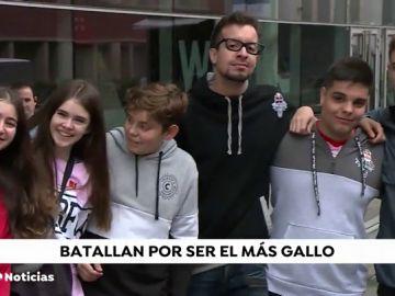 Se busca en Madrid al  'mejor 'gallo' de España en una gran batalla entre raperos