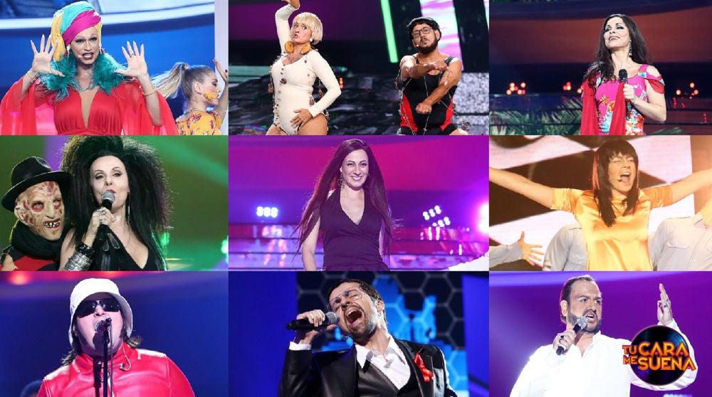¡Vota por la mejor actuación de la tercera gala de la séptima edición de 'Tu cara me suena'!