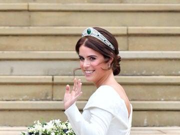 Eugenia de York el día de su boda