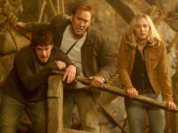Nicolas Cage y Diane Kruger en La Búsqueda