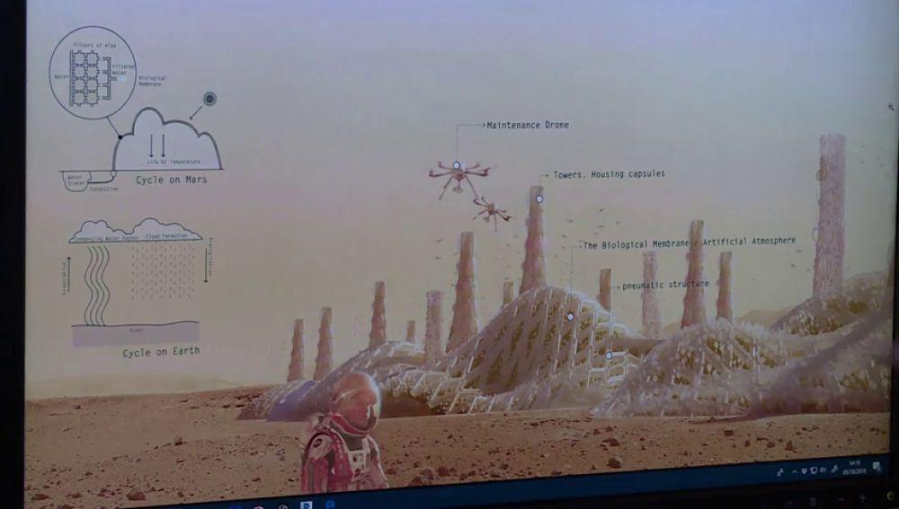 La NASA premia el proyecto de un equipo interdisciplinar español para colonizar Marte