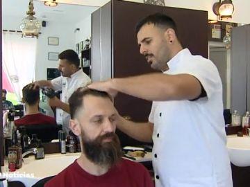 Las barberías, un negocio en apogeo