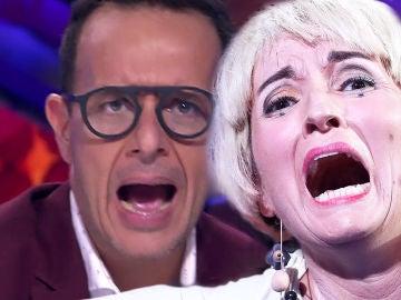 Àngel Llàcer explota con una desatada Silvia Abril