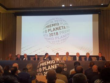 Presentación Premio Planeta 2018