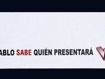 Exclusiva mundial: Pablo Motos sabe quién presentará 'La Voz' y será su invitado este miércoles